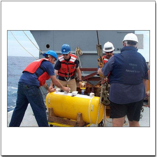 Preparing a McClean moored profiler for deployment