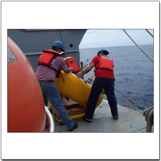 Deploying a McClean moored profiler