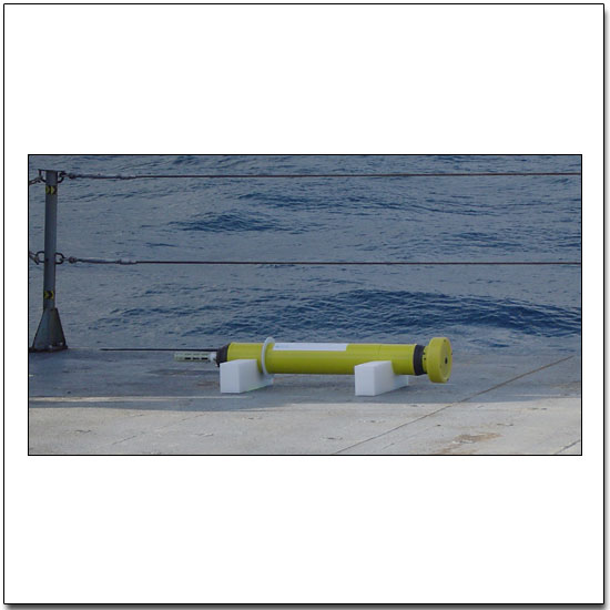 Webb Research Corporation APEX Float ready for deployment